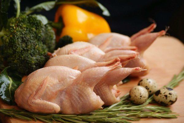 Перепелиное мясо: правила выбора, состав, полезные свойства