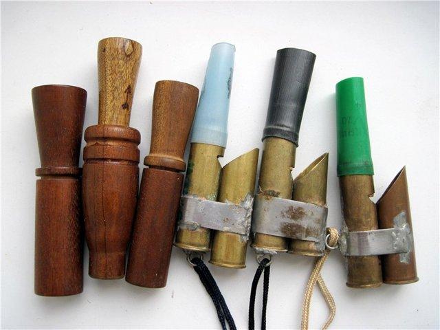 Манок на утку своими руками: изготовление из различных материалов